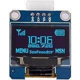 "SunFounder 0.96"" Inch Blue I2C IIC Serial 128x64 OLED LCD LED SSD1306 Module for Arduino Raspberry Pi Display"
