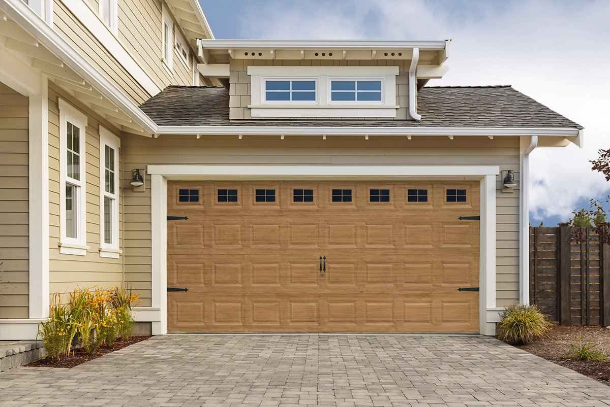 carriage ridge wood canyon look faux fullsize garage canyonridgeultragrain tollgate doors door house clopay grain ug ultra steel
