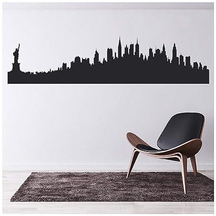 azutura New York, Stati Uniti Adesivo Murale Skyline della città Adesivo Da  Parete Soggiorno Camera da letto Home decor disponibile in 5 dimensioni e  ...
