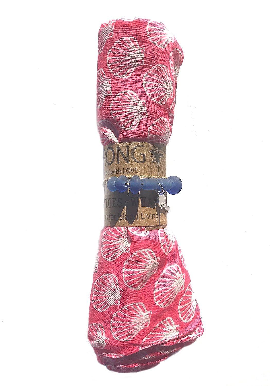 West Indies Pareo Wear de 100% Puro Algodón para Llevar Sobre el ...