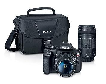 Amazon.com: Canon EOS Rebel T7 EF18-2.165 in + EF 2.953 ...