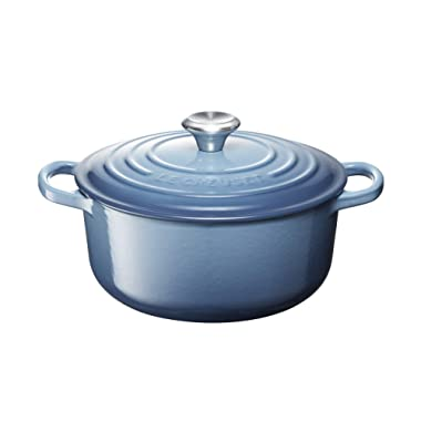 Le Creuset of America LS2501-206MSS Enameled Dutch Oven, 2.75 , Marine