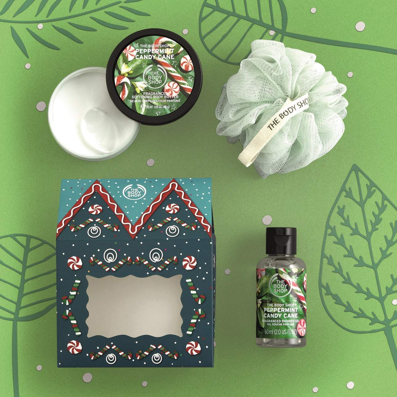 Amazon Com The Body Shop House Of Peppermint Candy Cane Delights