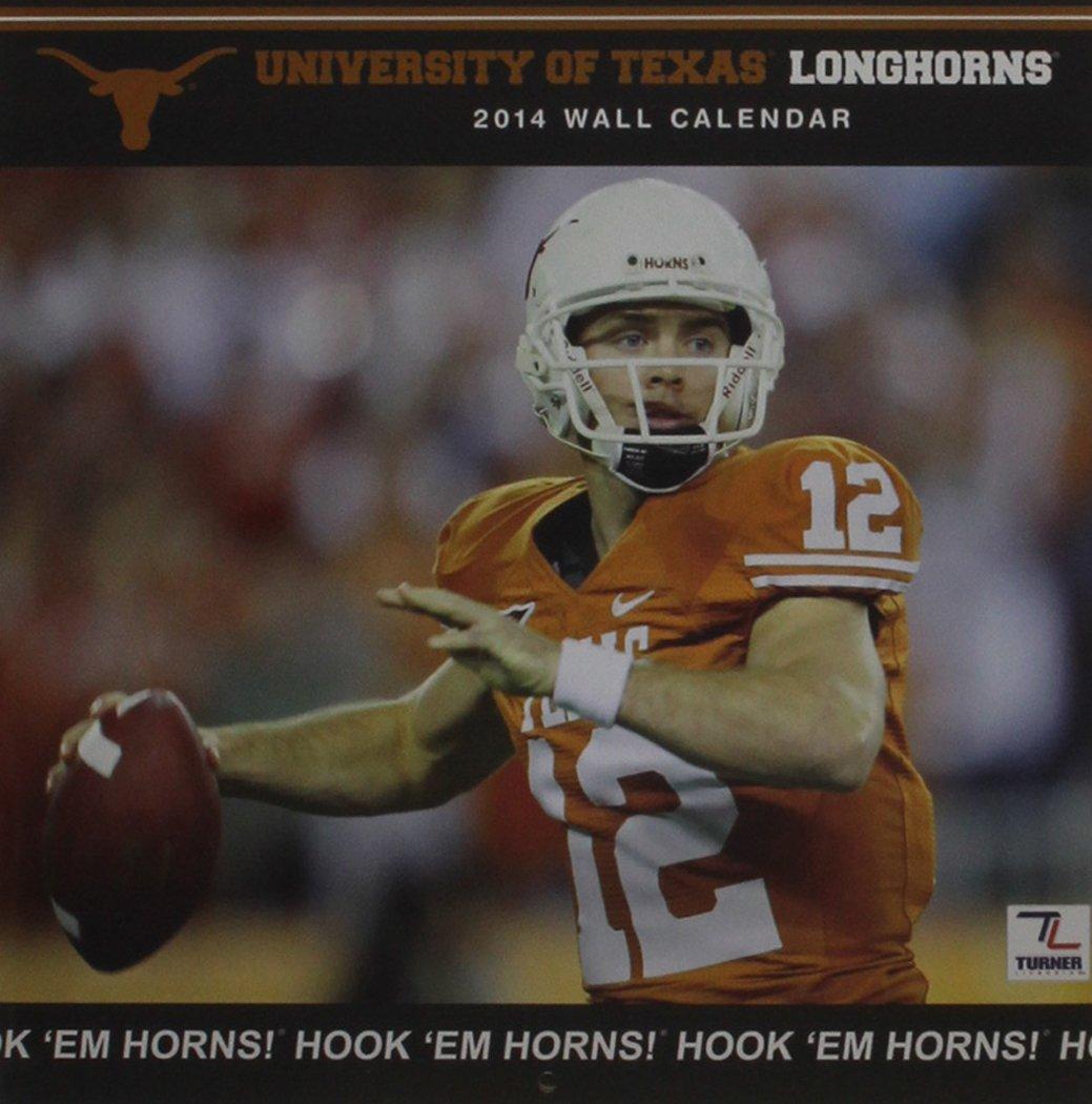 Read Online Texas Longhorns 2014 Calendar ebook