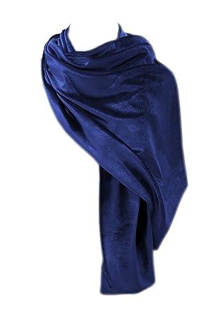 el más nuevo 87ce7 2a4bd BRANDELIA Estola Terciopelo Mujer Chal Elegante, Accesorio Idóneo y  Versátil con Ropa de Vestir para Fiestas y Eventos Especiales. Varios  Colores