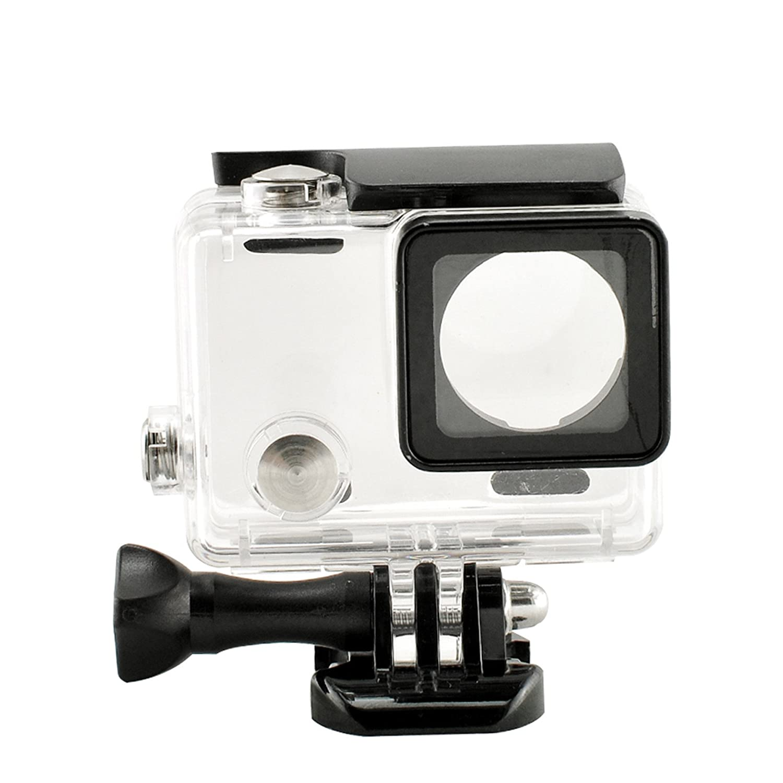 1×PCS Denshine carcasa delgado a resistente al agua para Gopro Hero 3 + Plus y Hero 4 cámara