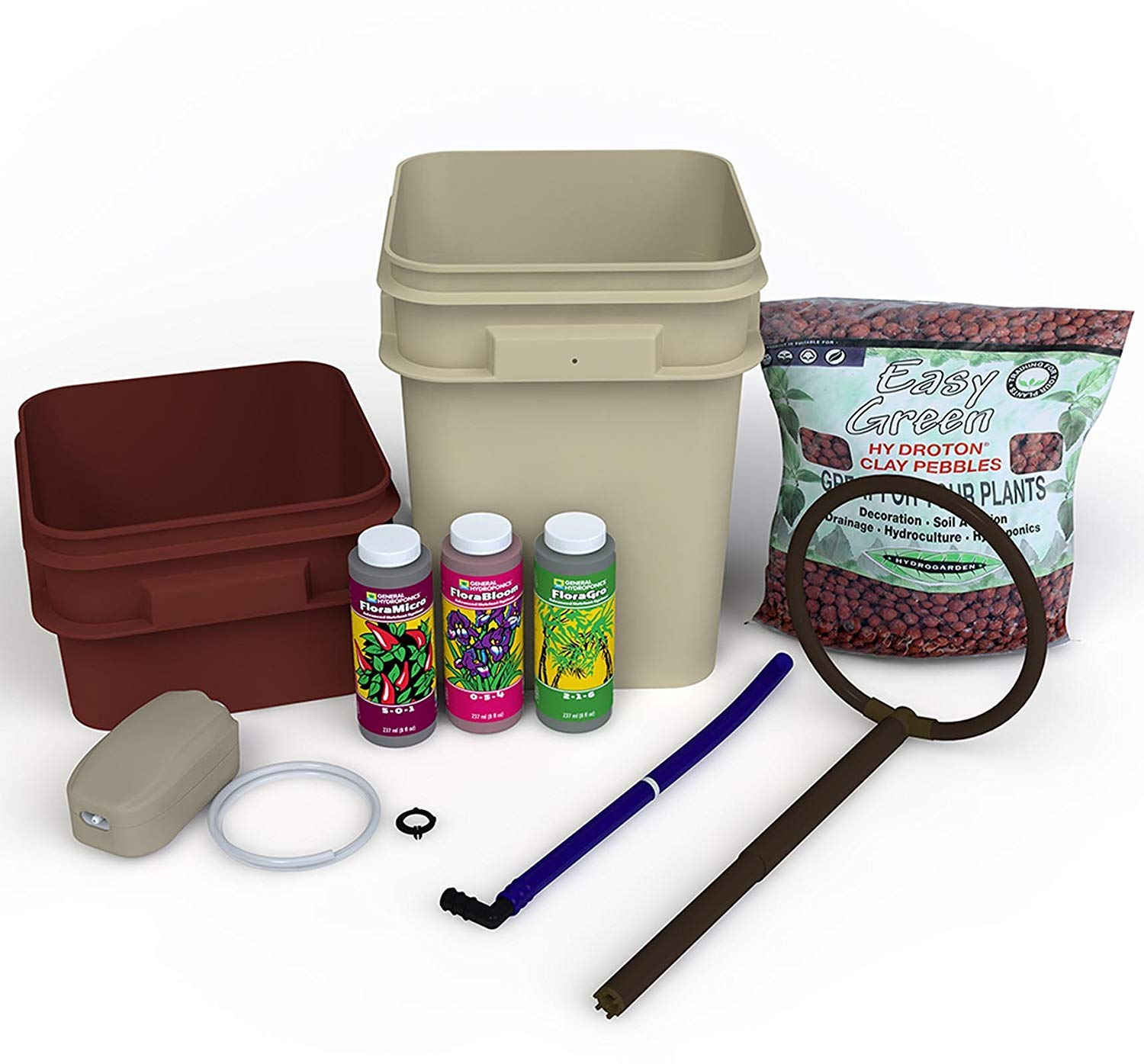 General Hydroponics Waterfarm Complete Hydroponic System Grow Kit | GH4120 B001PKQTFO