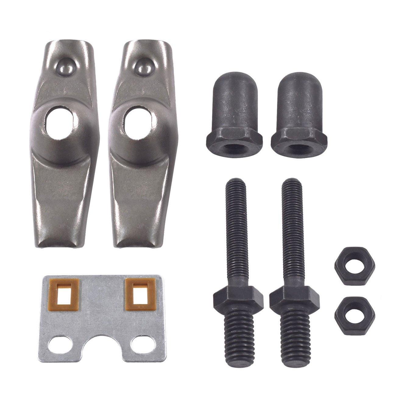 JRL Valve Rocker Arm Push Rod Guide Plate fit Honda GX340 GX390 11HP 13HP Engine Huang Machinery