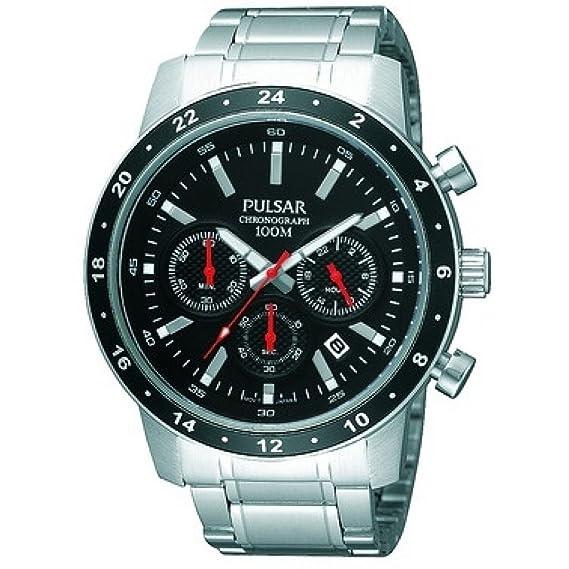 Pulsar PT3161X1 - Reloj de Caballero movimiento de cuarzo con brazalete metálico