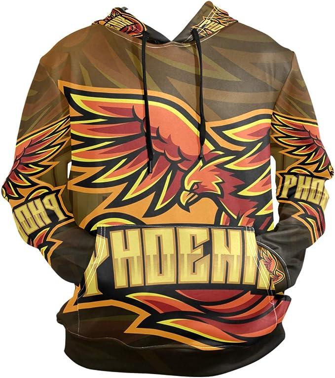 Fabric Mens Biker Full Zip Hoody Hoodie Hooded Top