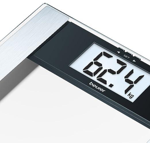 Diagnostic Slim Electronic Glass Bathroom Scales Beurer BG17