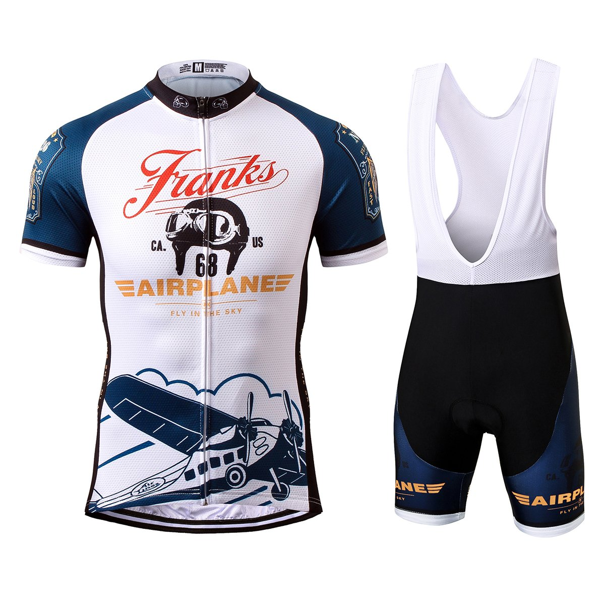 TRS0041 LAOYOU Men's Cycling Jersey Mountain Bike Sports Short Sleeve Jersey Bicycle Cycle Shirt Wear Comfortable Breathable Shirts Tops