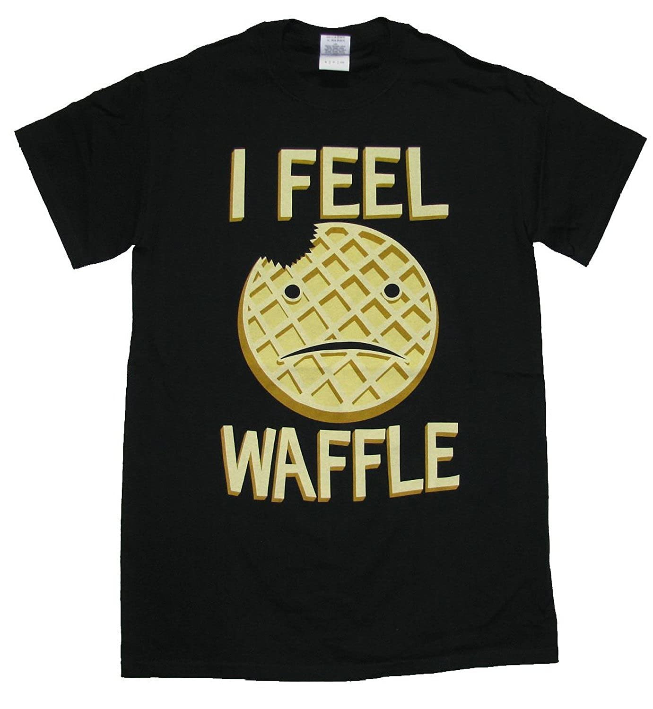 Groacsse I Feel Waffle T-Shirt