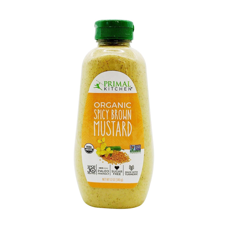 Primal Kitchen, Spicy Brown Mustard, 12 oz