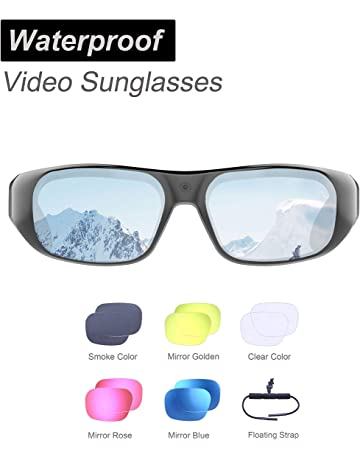 8750c132cdaa Waterproof Video Sunglasses