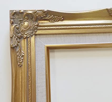 Amazon Tp Picture Frame Only 11x14 Old Gold Ornate Antique