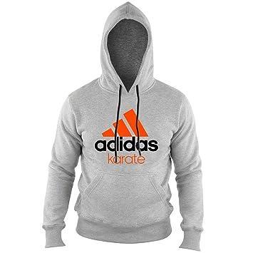 "Adidas - Community - Sudadera con capucha e impresión ""karate"","