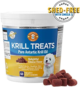 Sweepstakes: Krill Treats Pure Antarctic Krill Oil Shed-Free...