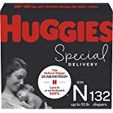 Hypoallergenic Baby Diapers Size Newborn, 132 Ct, Huggies Special Delivery