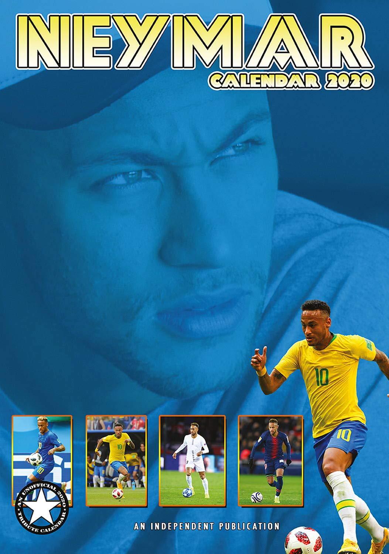 Soccer Calendar 2020 Neymar Celebrity Calendar   Calendars 2019   2020 Wall Calendars