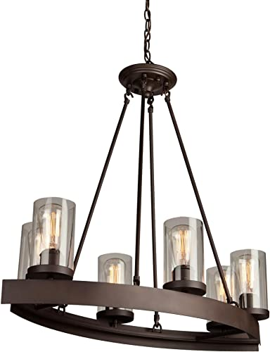Artcraft Lighting Menlo Park 6-Light Chandelier