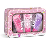 Grace Cole Glitter Fairies Perfect Pout Reusable Tin with Lip Gloss