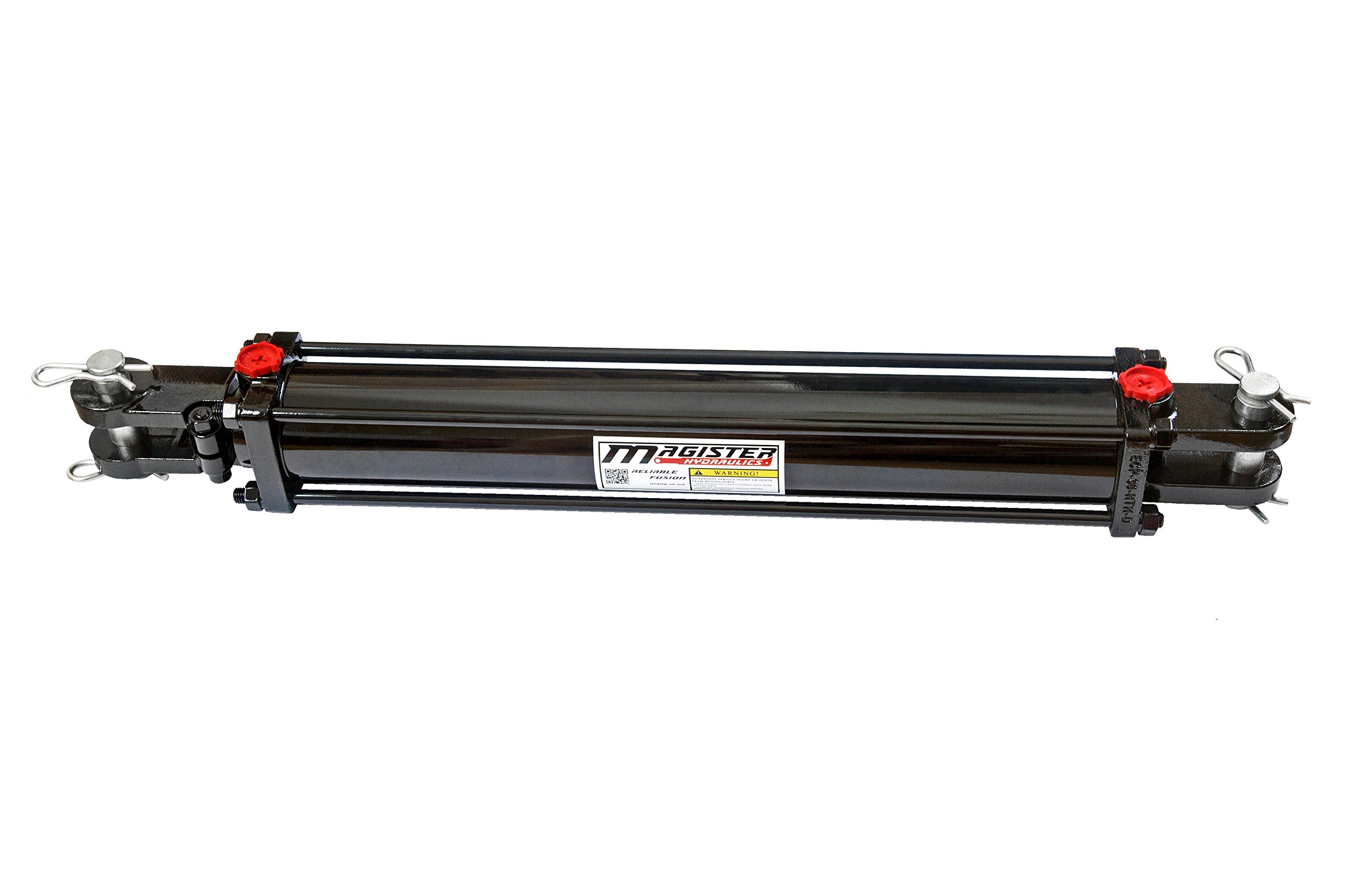 Double Acting Tie-rod Hydraulic Cylinder 3'' Bore 18'' Stroke Tie Rod