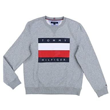 Fabriksnye Tommy Hilfiger Mens Pullover Big Flag Sweater at Amazon Men's OH-71