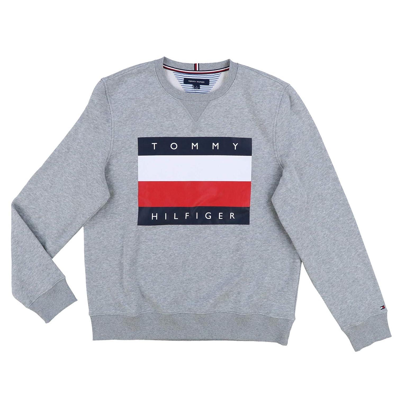 Tommy Hilfiger Mens Pullover Big Flag Sweater