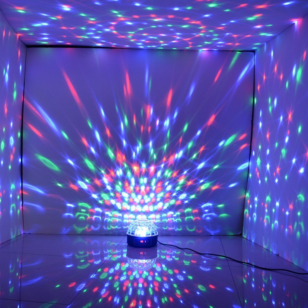 Disco Stage LED RGB Crystal Magic Effect Dot Light Ball With UK Plug  Adapter: Amazon.co.uk: Musical Instruments Home Design Ideas