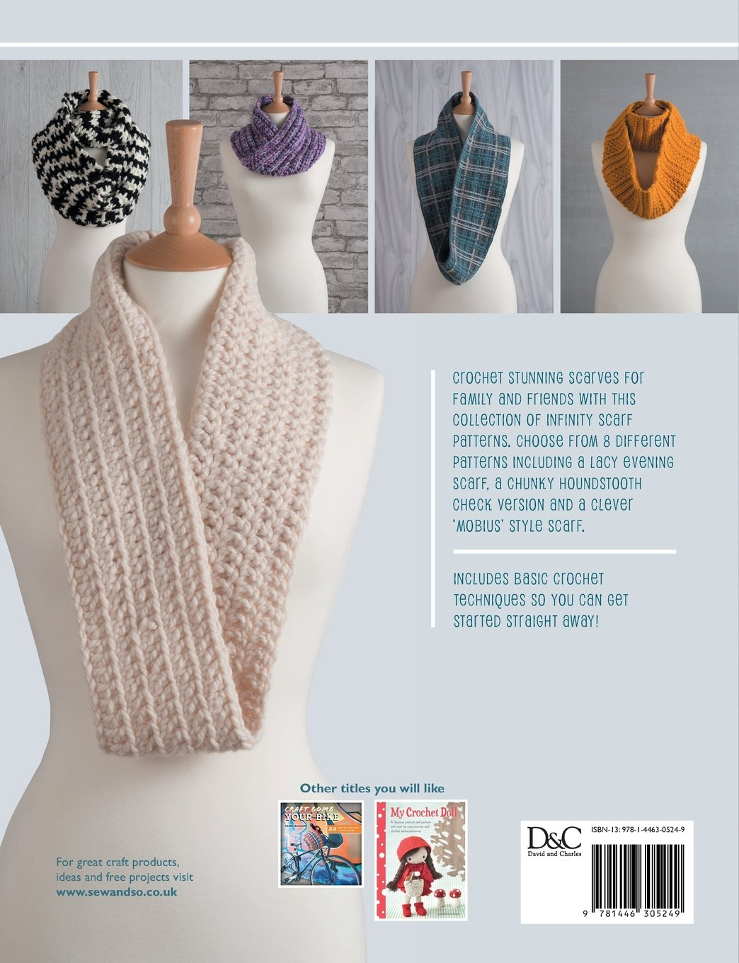 Crochet Infinity Scarves: 8 Simple Infinity Scarves To Crochet ...