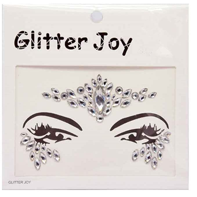 Glitter Joy Piedras adhesivas de estilo diamante brillante con ...