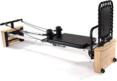 side facing aeropilates pro pilates reformer