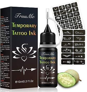 """Résultat de recherche d'images pour """"Encre Tatouage Temporaire, Jagua Gel, Freehand Ink"""""""""""