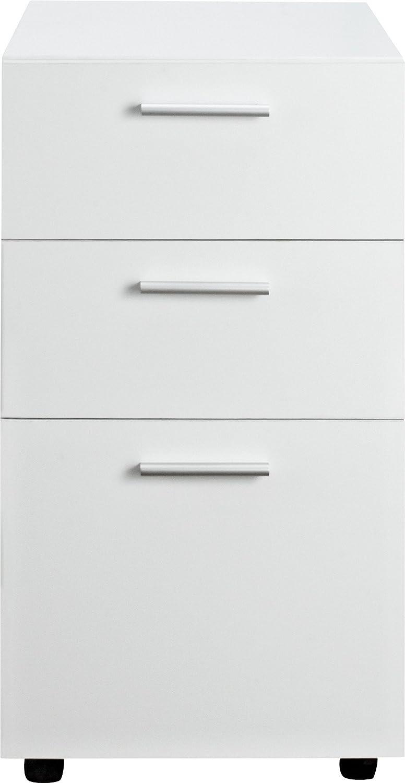 amazoncom altra princeton mobile file cabinet white kitchen u0026 dining