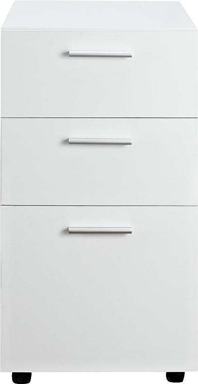 Amazon.com: Altra Princeton Mobile File Cabinet, White: Kitchen ...