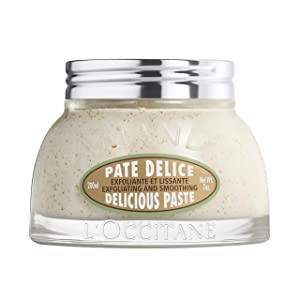 L'Occitane Exfoliating & Smoothing Delicious Paste with Flaked Almonds, 7 oz