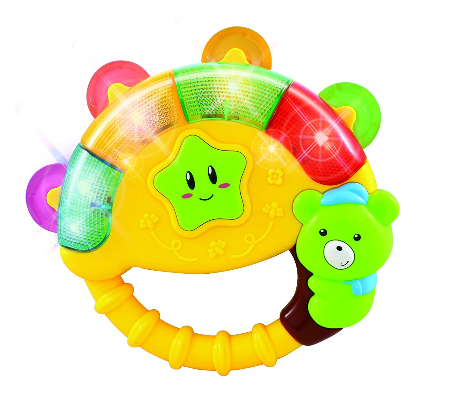 Amazon.com: Baby Bear Bell Toy with Music Song Light(colors may ...