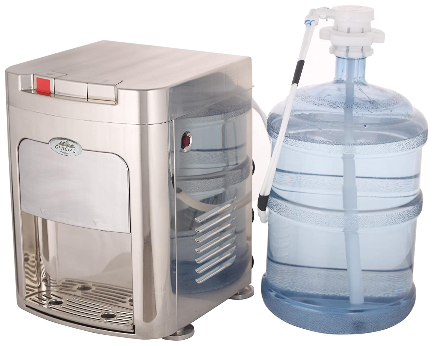 Amazon.com: Glacial UnderCabinet Professional Water Cooler With Hot U0026 Cold:  Cold Water Dispenser: Kitchen U0026 Dining