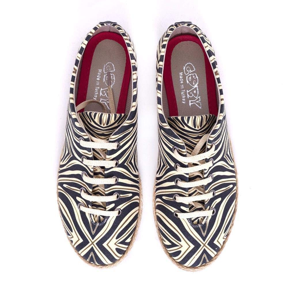 Goby Zebra Style Ballerinas Shoes FBR1222