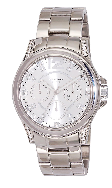 Naf Naf   -Armbanduhr    Quarz Edelstahl N10364-204