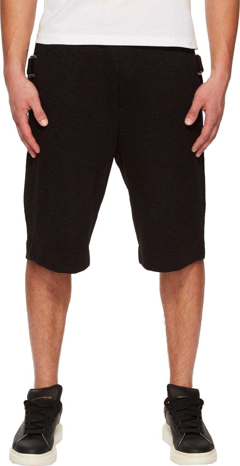 McQ Men's Bondage Neukoelln Shorts Black Melange Large