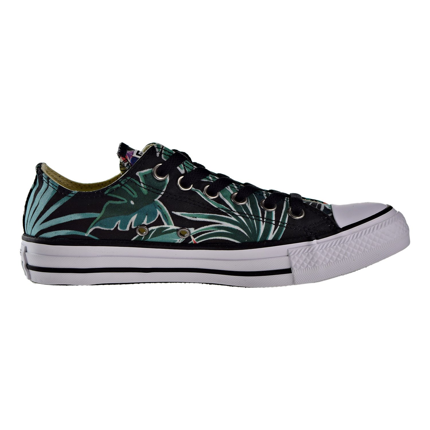 c9e524c863ca Converse Mens Chuck Taylor All Stars Tropical Print Ox Low Top Canvas  Trainers