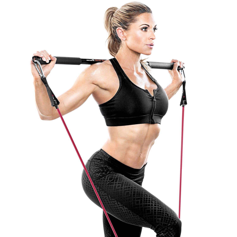 Schwarz TubeStick Bionic Body Row Stick f/ür Wiederstandsb/änder Rip