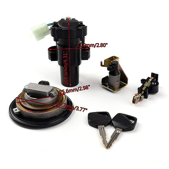 Supporto Di Distribuzione Universale Per Portafusibili Da 60A Per Auto Con Portafusibile Dorato FH-001-85 x 42 x 25mm 1 via
