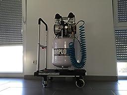 1500w 2ps fl ster kompressor druckluftkompressor 60db. Black Bedroom Furniture Sets. Home Design Ideas