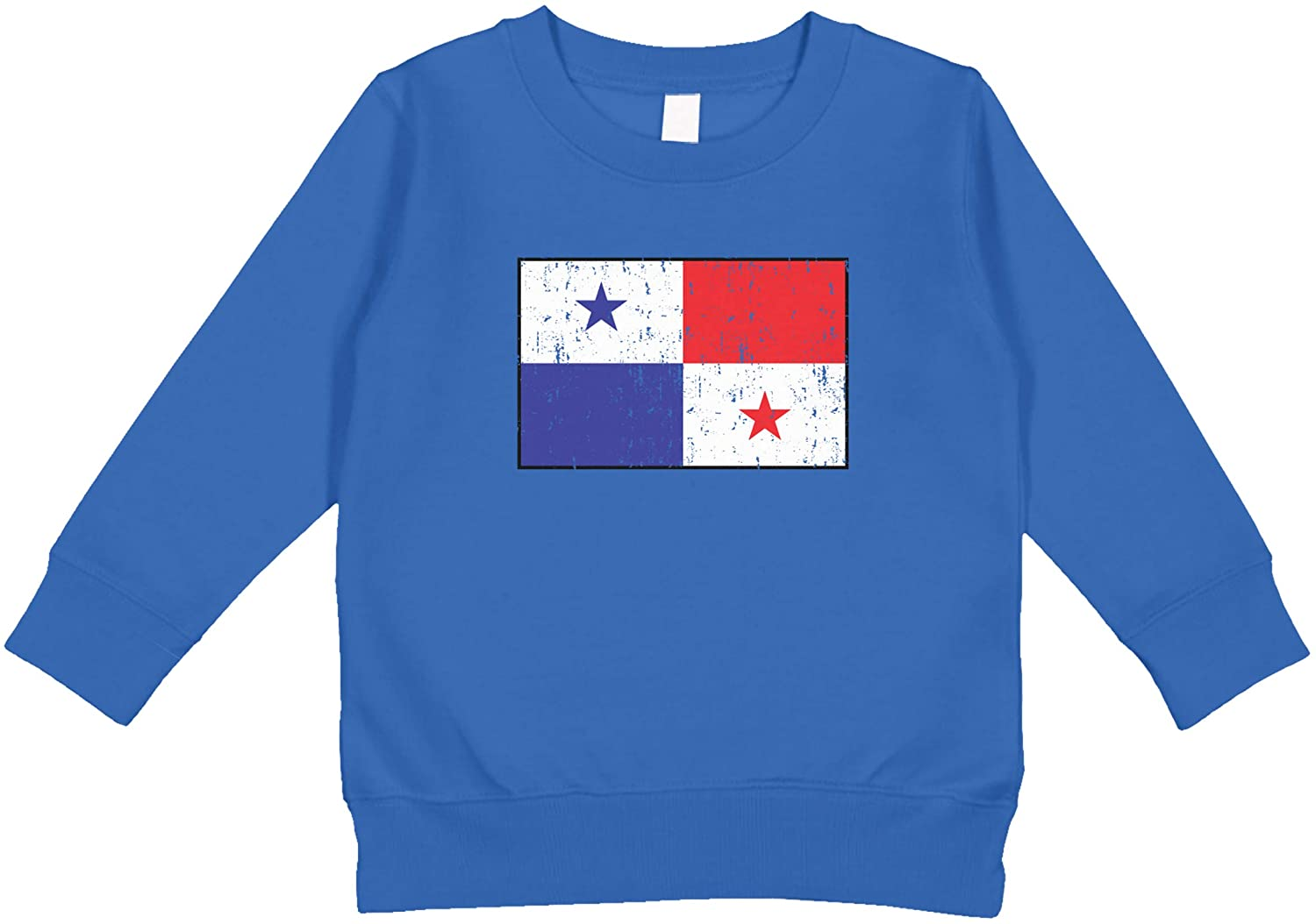 Amdesco Flag of Panama Panamanian Toddler Sweatshirt