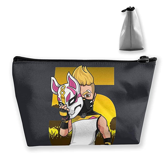 Fortnite Drift Mask Cosmetic Pouch Bag