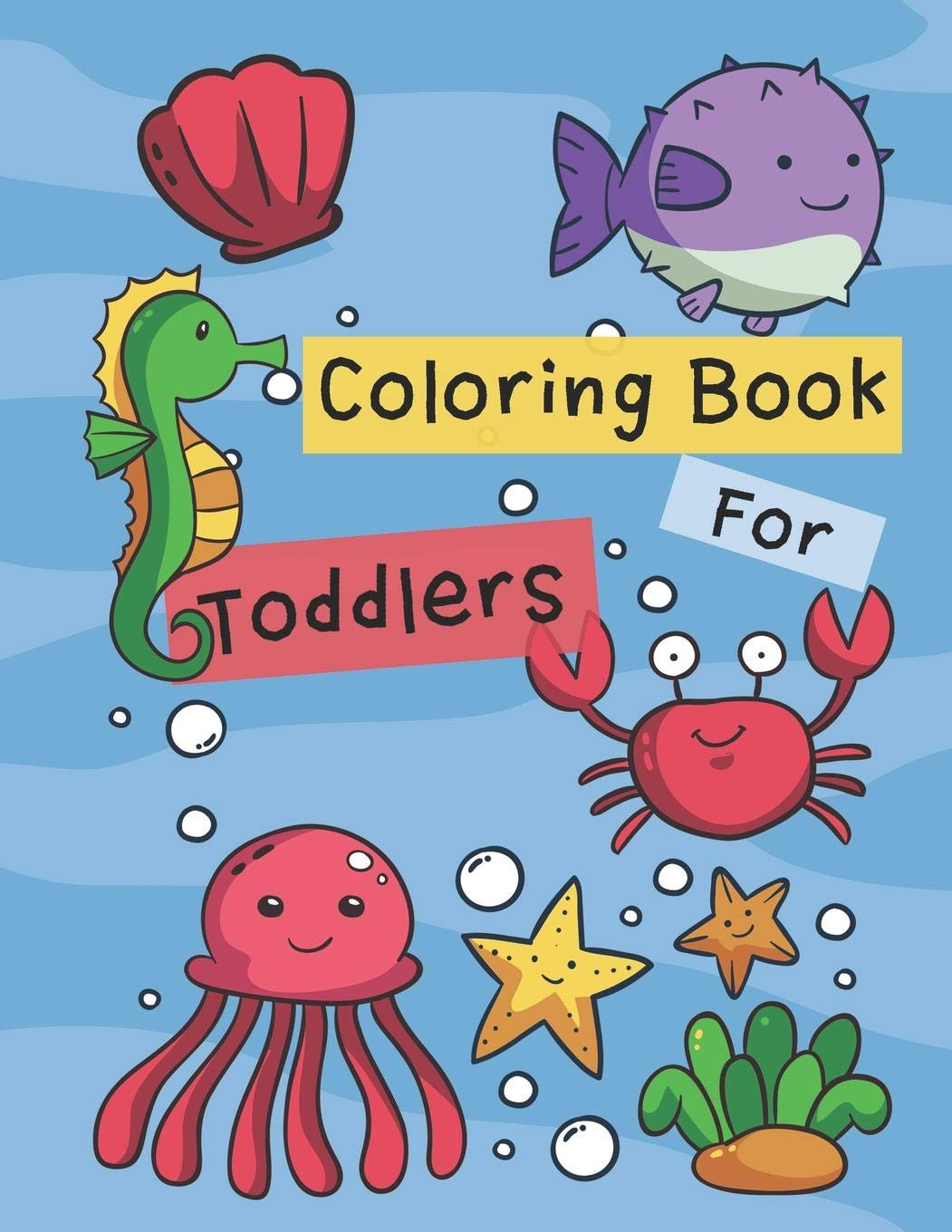 - Coloring Books For Toddlers: Animals Coloring Book Kids Activity