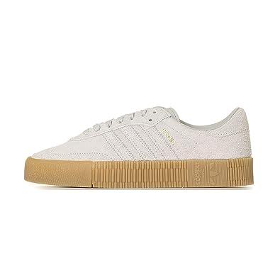 adidas Samba Rose Damen Sneaker Grau